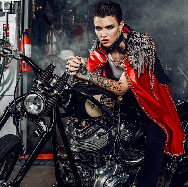 Ruby Rose by Glassbook Magazine