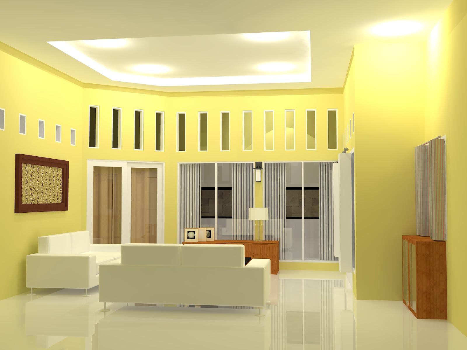 Memilih Warna  Cat  Untuk Ruang Keluarga Rumah  Minimalis