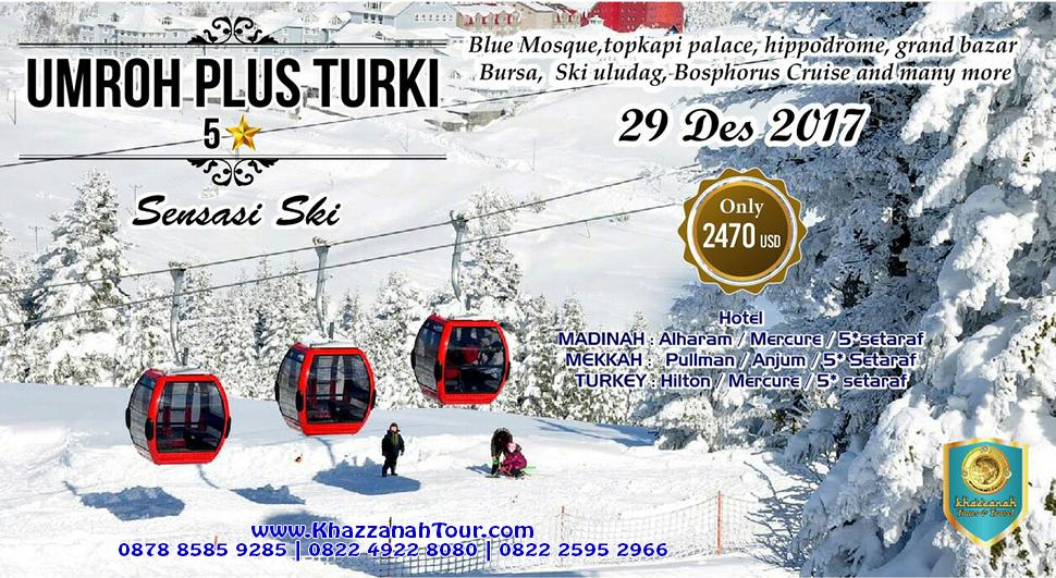 Khazzanah Tour salju turki