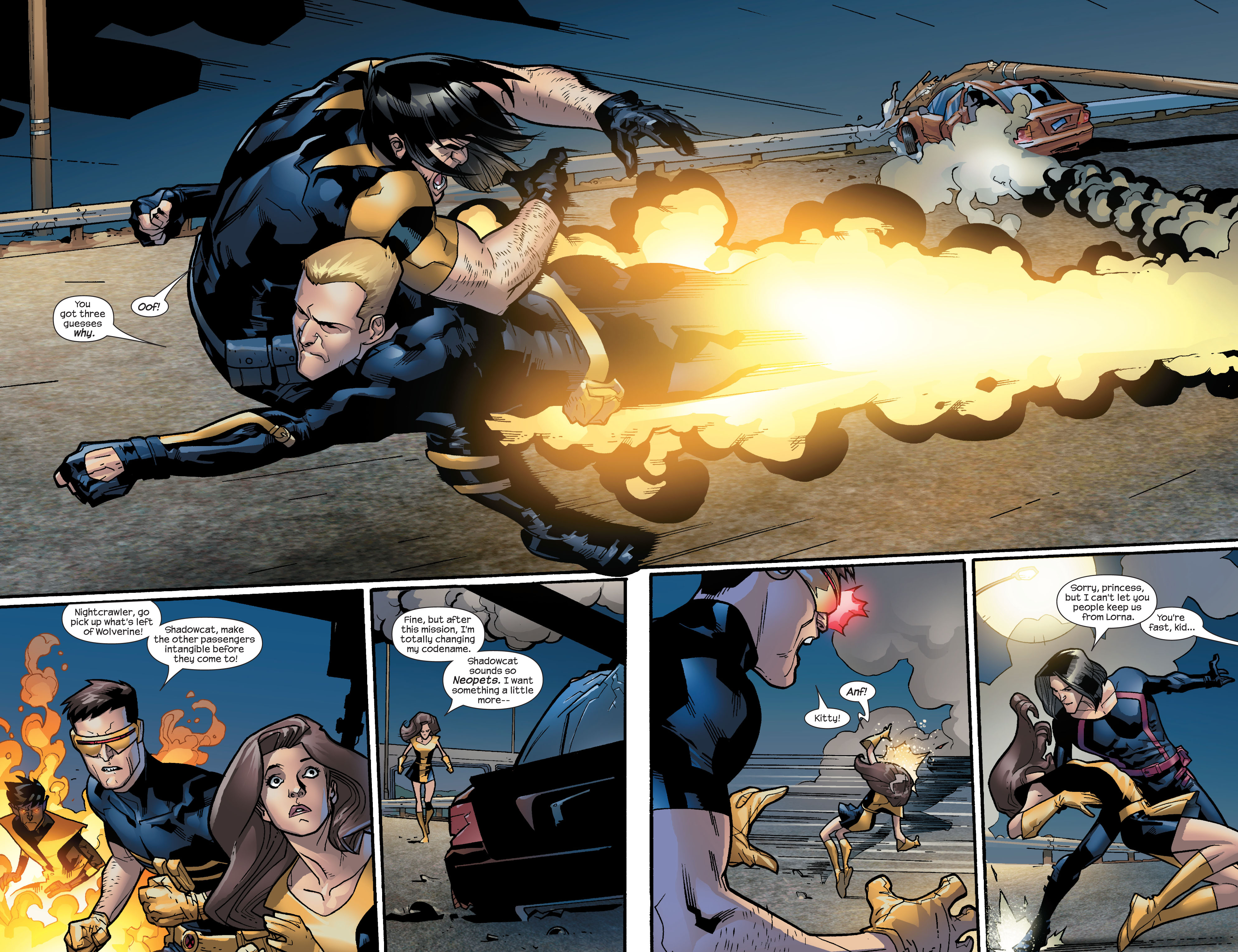 Read online Ultimate X-Men comic -  Issue #63 - 13