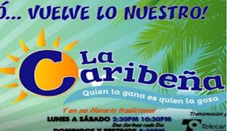 Caribeña Dia martes 8 de enero 2019
