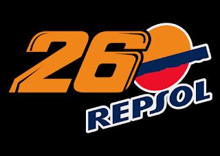 Logo Dani Pedrosa 26 Repsol Vector