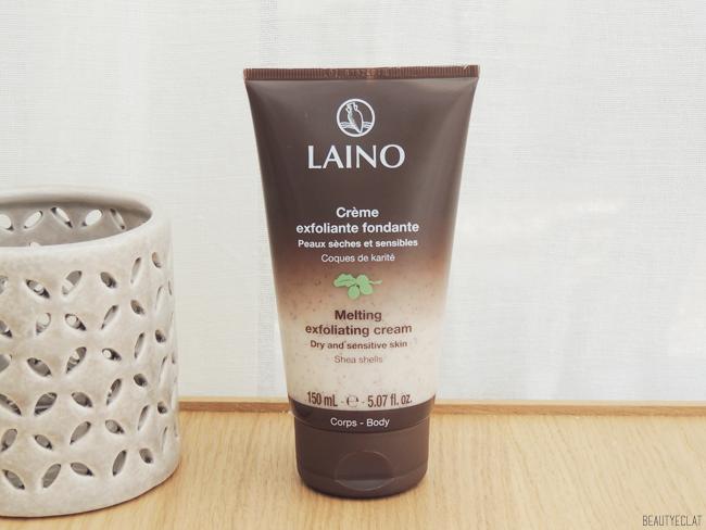 revue avis test laino exfoliant masque nettoyant