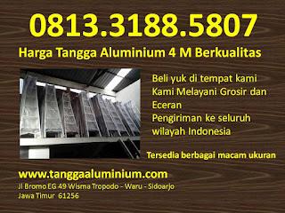 Harga tangga aluminium 4m berkualitas