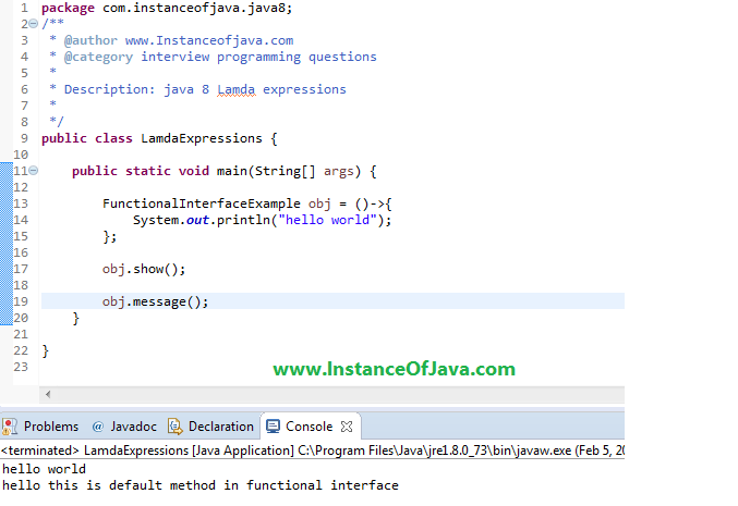 Can we define default methods in functional interfaces in java 8