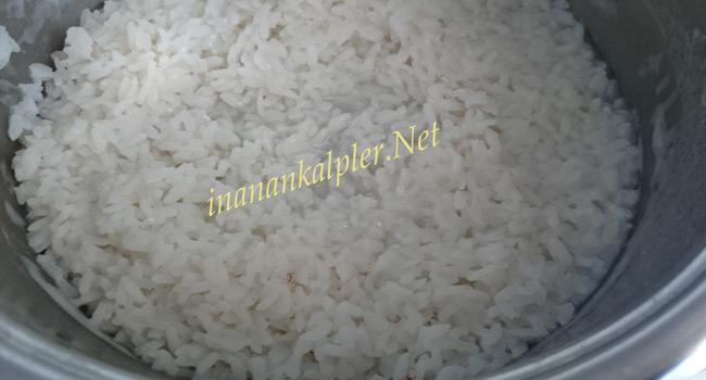 Haşlanmış Pirinç