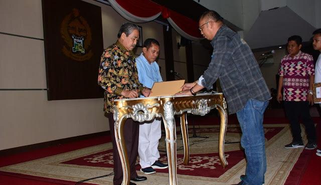 Akan Dilantik Besok, Bupati dan Wakil Bupati Sidrap Dollah Mando-Mahmud Yusuf Gelar Gladi