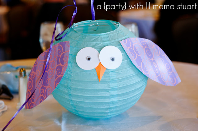 A Day With Lil Mama Stuart Colorful Owl 1st Birthday
