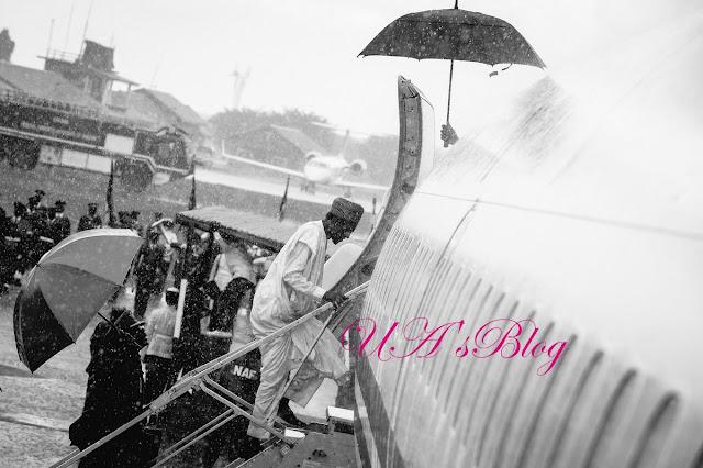 Buhari Arrives Jos Over Bloody Massacre By Herdsmen (Video)