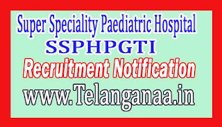 Super Speciality Paediatric Hospital & Post Graduate Teaching Institute – SSPHPGTI Noida Recruitment Notification 2017
