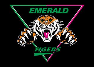 Emerald Tigers Logo Vector
