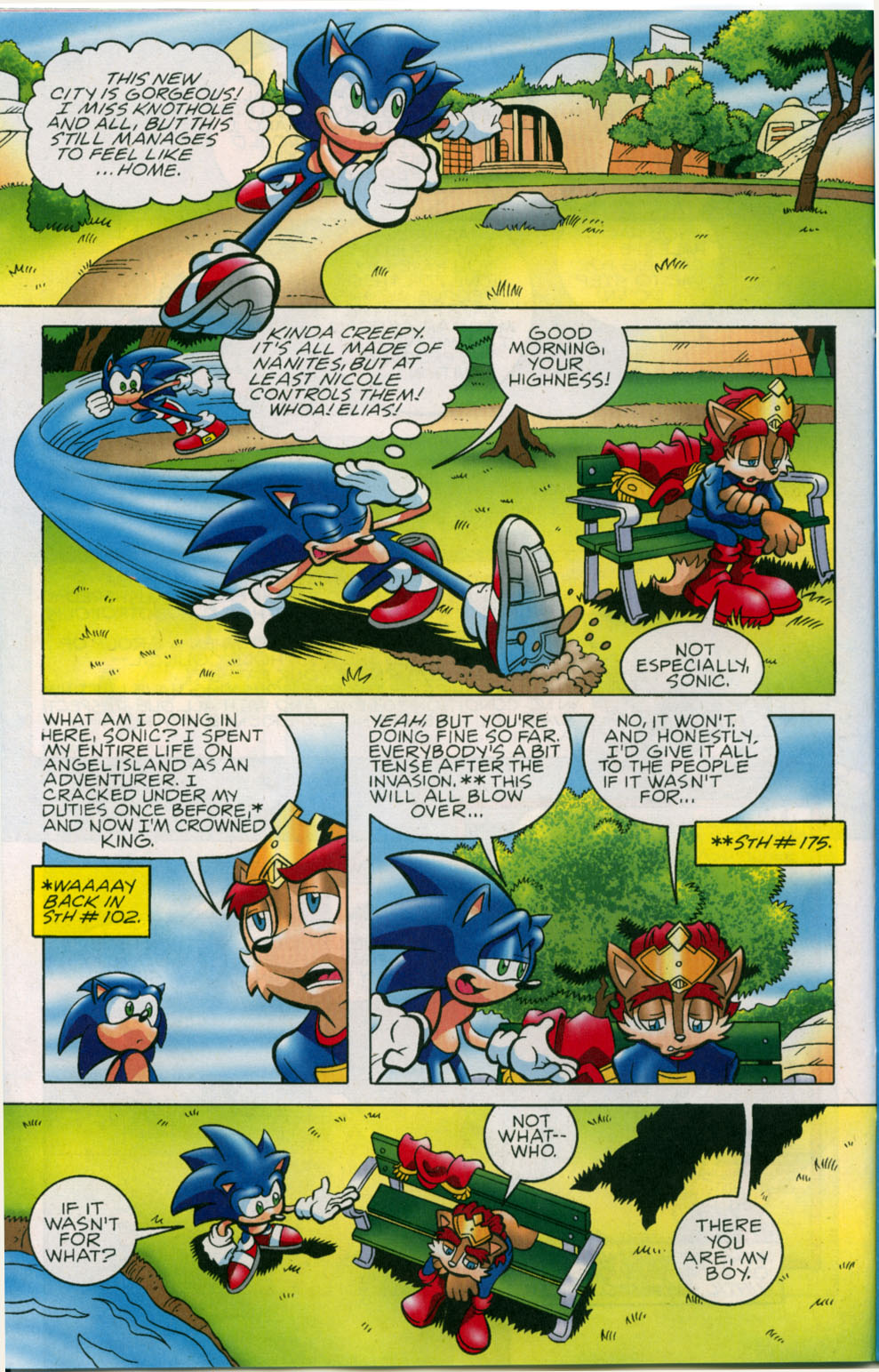Read online Sonic The Hedgehog comic -  Issue #178 - 9