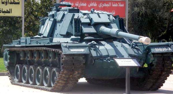 IAI / ELTA Systems Magach-4 Carro de combate médio