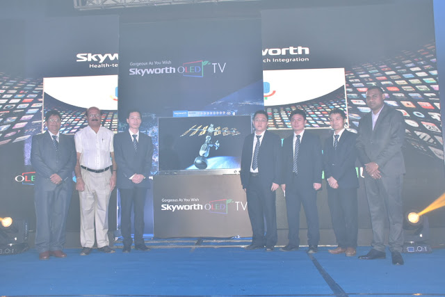 Skyworth India launches its latest range of OLED &4K ANDROID TV's