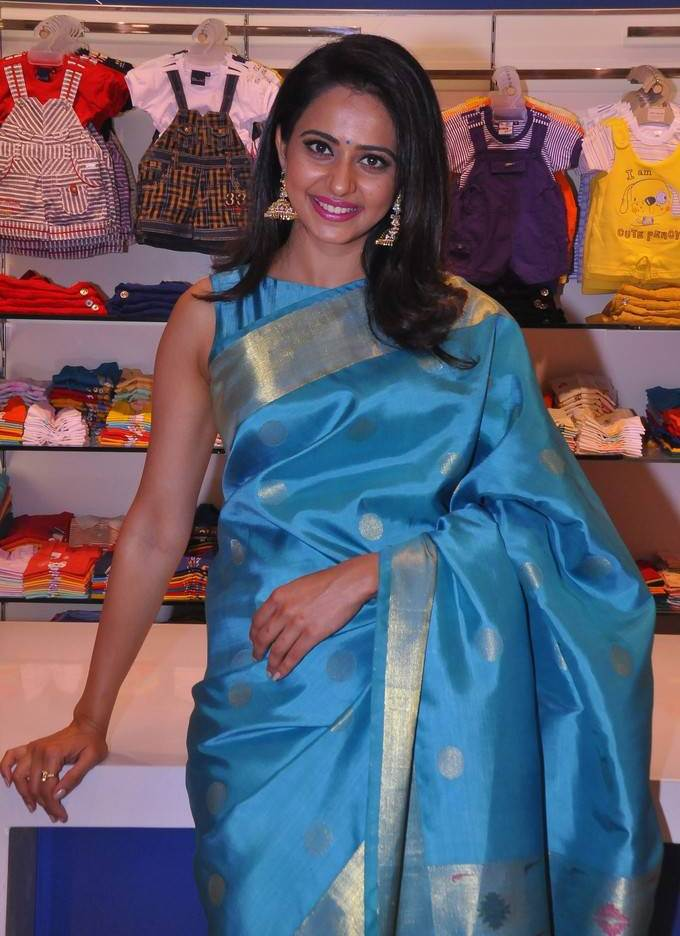 Rakul Preet Singh Photos At South India Shopping Mall Opening