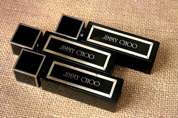 Jimmy Choo Black Crystal Shoes