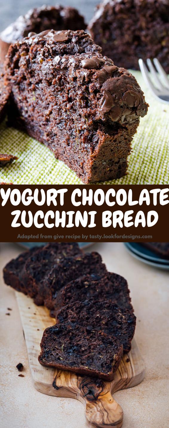 Yogurt Chocolate Zucchini Bread Recipe