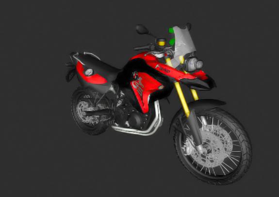 Gta Sa Bmw F800 Gs Pc Fraco Painel Digital Ativo Mk3d Mods