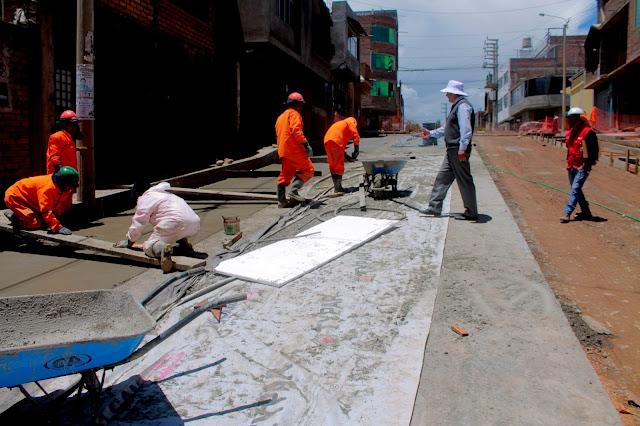 MDT avanza nuevo paquete de obras de pavimentación