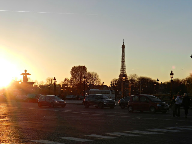 Place de la Concorde Eiffel Tower