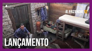A Fazenda 12 – Peões se preparam para dormir – MC Biel canta trecho de sua nova música