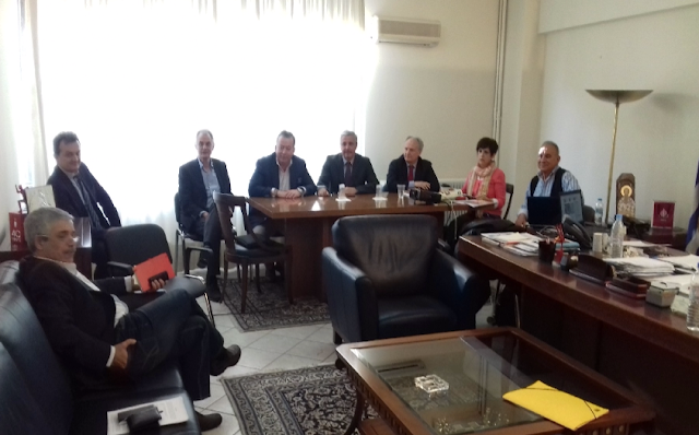 Σύσκεψη παραγόντων της Αργολίδας στο Υπουργείο Αγροτικής Ανάπτυξης για το θέμα της Τριστέτσας