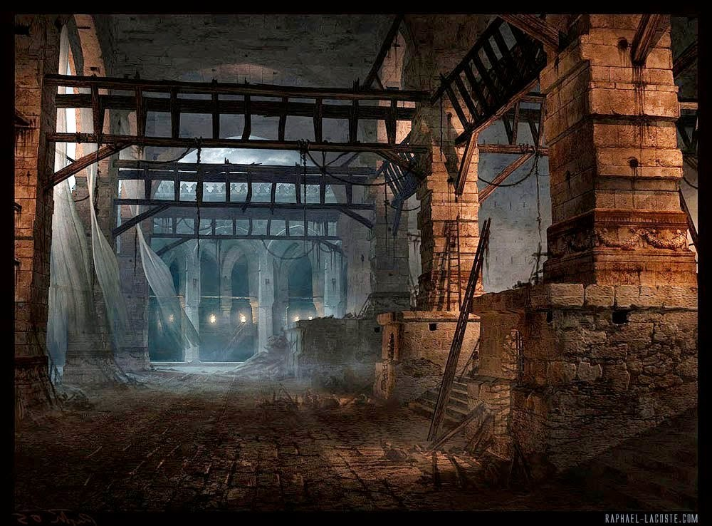 04-Workshot-Alley-Raphael-Lacoste-Matte-Paintings-and-Concept-Worlds