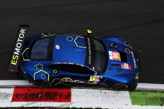 TF Sport Aston Martin takes second in GTE in 4 Hours of Monza