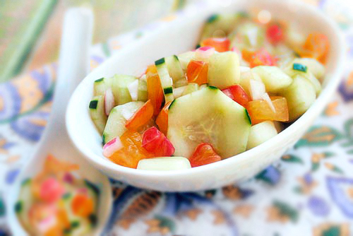 Gluten-Free Goddess® Recipes: Cool As A Cucumber Salad with Agave