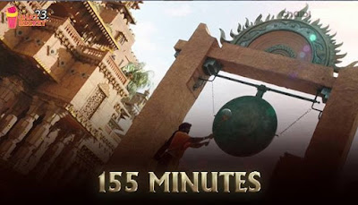 The length of the movie 155 minutes. Censor certified the movie as UA with no cuts