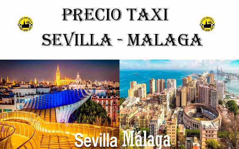 Precio Taxi Sevilla-Málaga