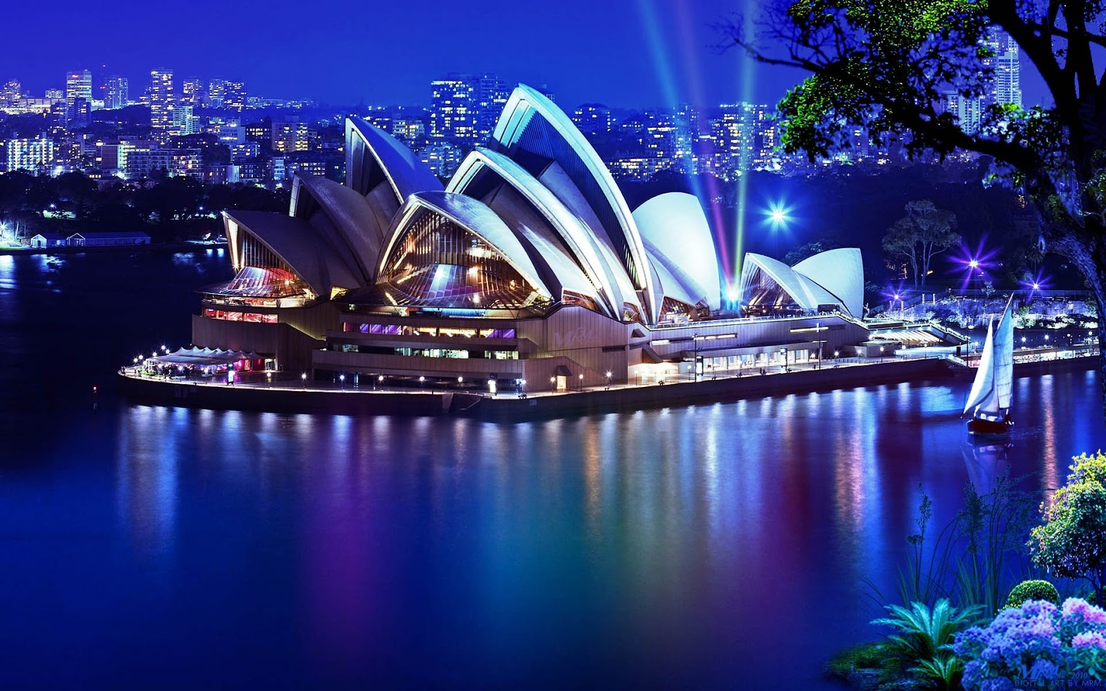 a hd wallpapers: sydney opera house awesome hd wallpapers 8k resolution