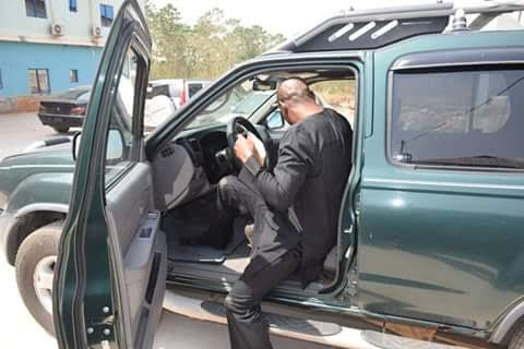 Apostle Johnson Suleman blesses one of his member with multimillion SUVs, N2m