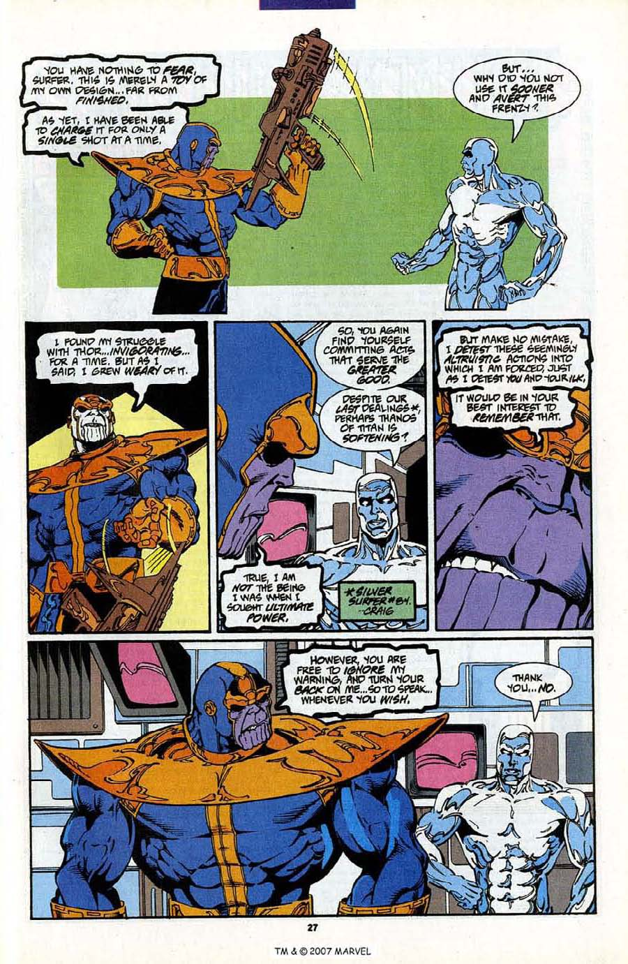 Read online Silver Surfer (1987) comic -  Issue #88 - 45