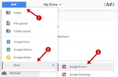 How to create google form step by step - supportmesmart