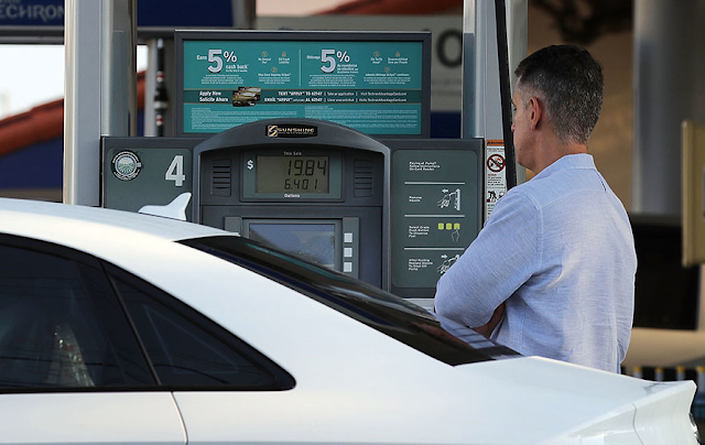 Trump's next economic threat: Surging gas prices