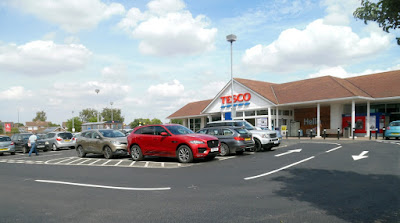 Picture: The Tesco store in Brigg which was rated for food hygiene in 2018 by North Lincolnshire Council - see Nigel Fisher's Brigg Blog