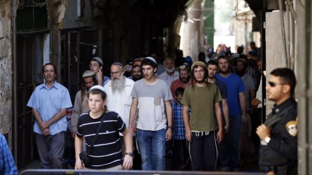 Tensão em Jerusalém Oriental