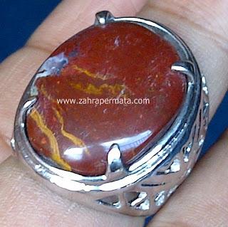 Cincin Batu Jasper Chalcedony - ZP 499
