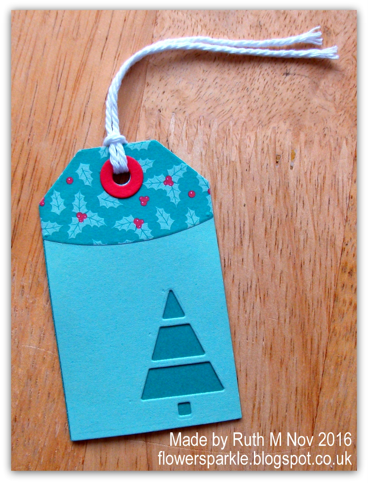 flower sparkle batch of cut out christmas tree gift tags