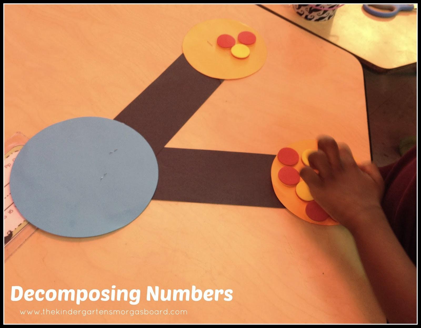 A Kindergarten Smorgasboard Number Bond Lesson