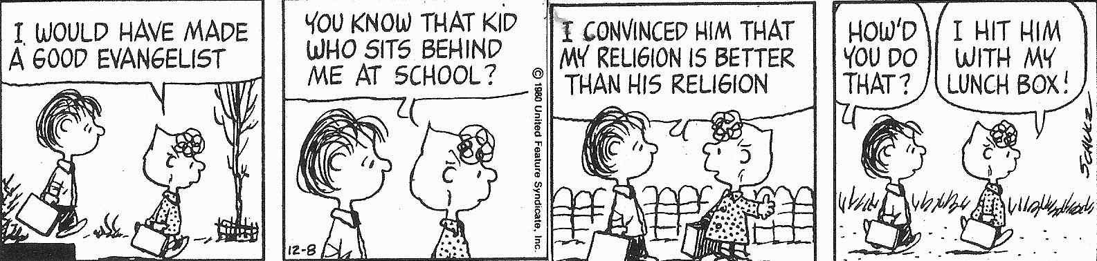 Funny Good Religious Evangelist Cartoon Joke Picture