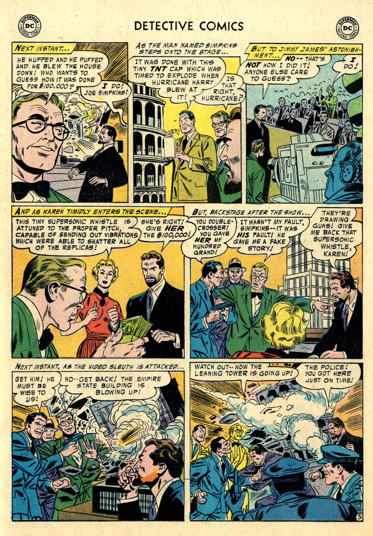 Read online Detective Comics (1937) comic -  Issue #239 - 21