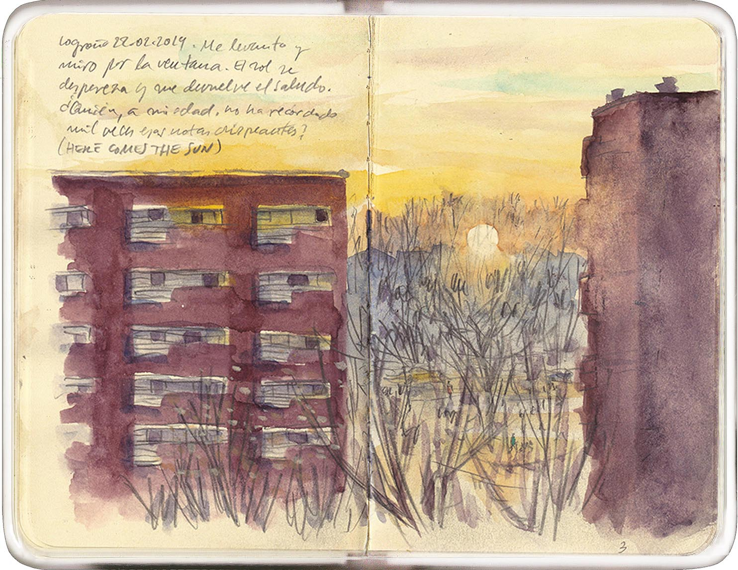 in a few strokes: Here comes the Sun   Urban Sketchers