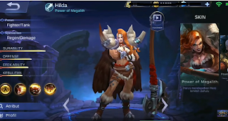 HILDA (power of Megalith)