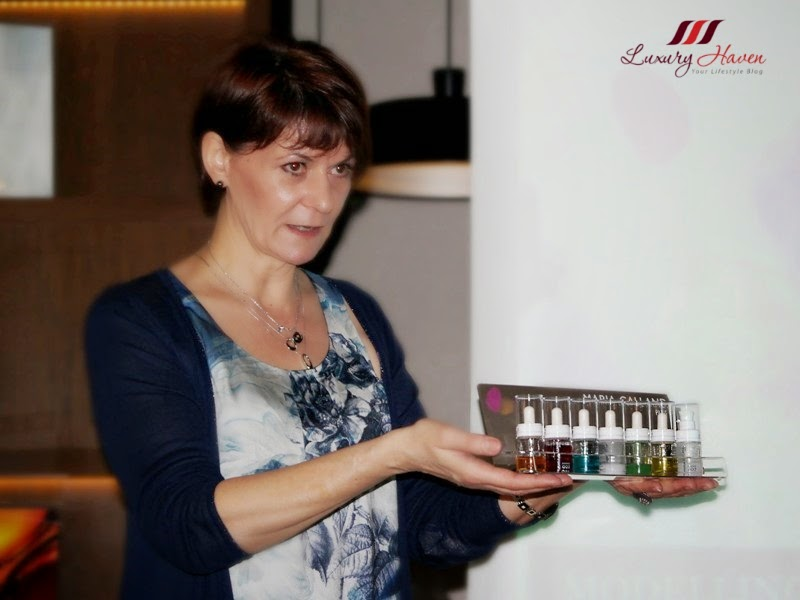 maria galland international trainer odile le essence launch