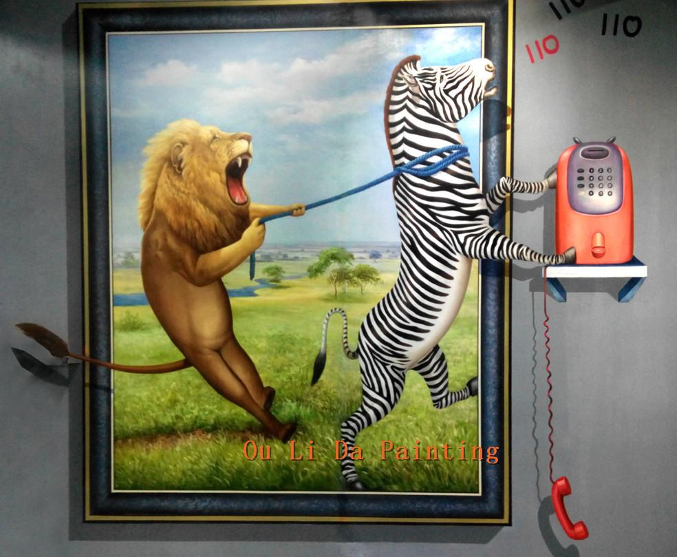 57 Gambar Binatang Tiga Dimensi Terbaru