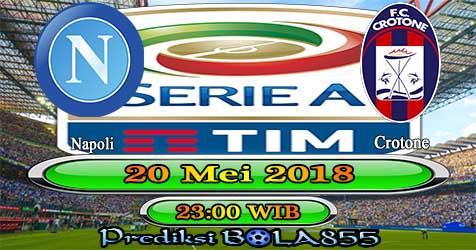 Prediksi Bola855 Napoli vs Crotone 20 Mei 2018