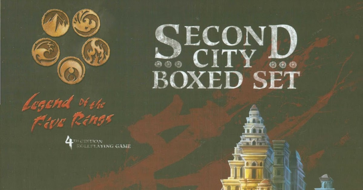 L5r Second City Pdf