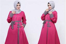 Model Baju Gamis Pesta Model Terbaru Harga Murah 2019